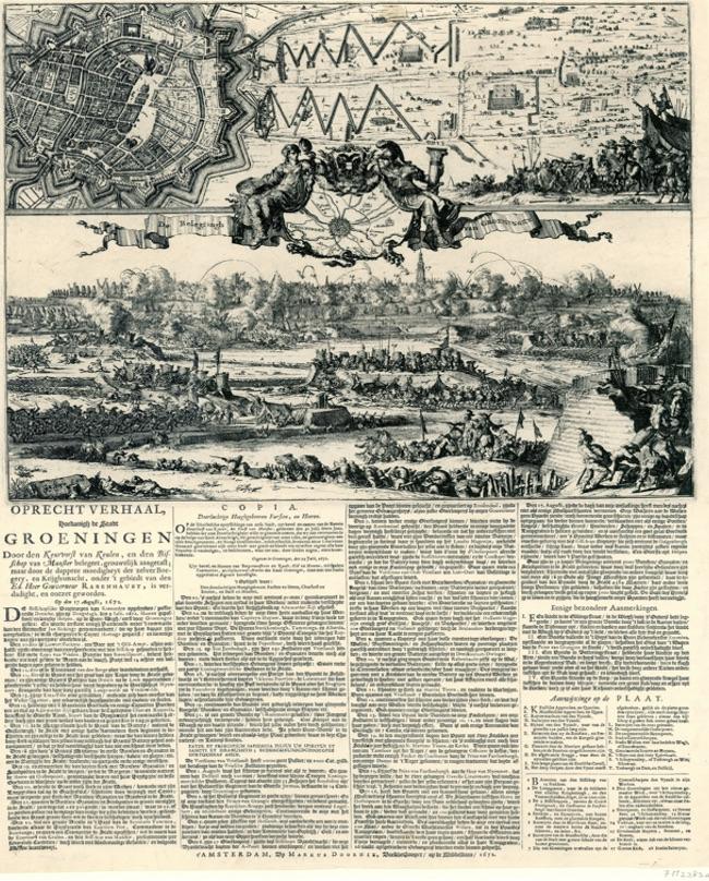 Beleg van Groningen door de bisschoppelijke troepen (augustus 1672)