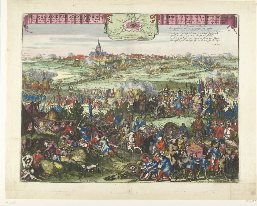 Belegering en verovering van Naarden door Willem van Oranje op 12 september 1673