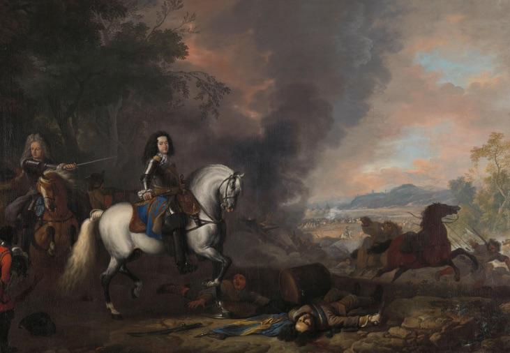 Portret van Hendrik Casimir II van Nassau-Dietz