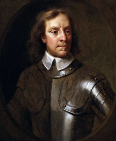 Portret van Lord Protector Oliver Cromwell (1599-1658)