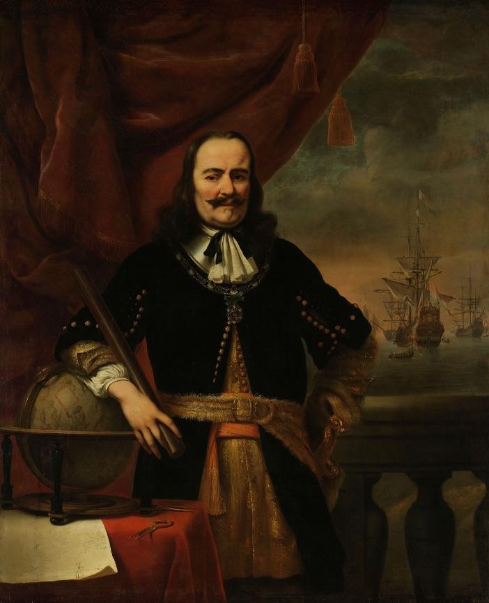 Luitenant-admiraal Michiel de Ruyter (1607-1676)