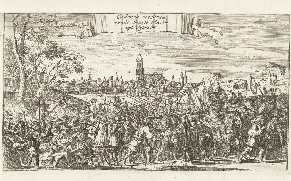 Uittocht van het Franse leger uit Utrecht