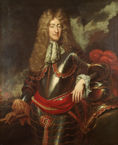 Jacobus II (1633-1701) koning van Engeland, Schotland en Ierland