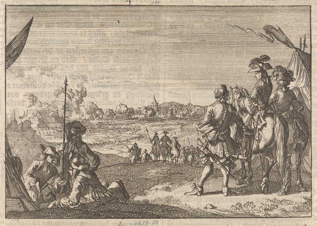 Fransen nemen Nijmegen in (1672)