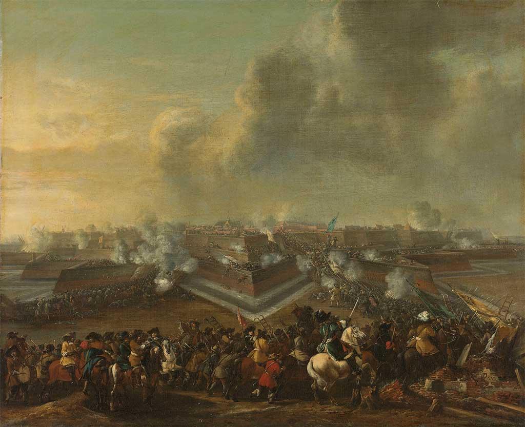 Bestorming van Coevorden door Rabenhaupt, 30 december 1672.