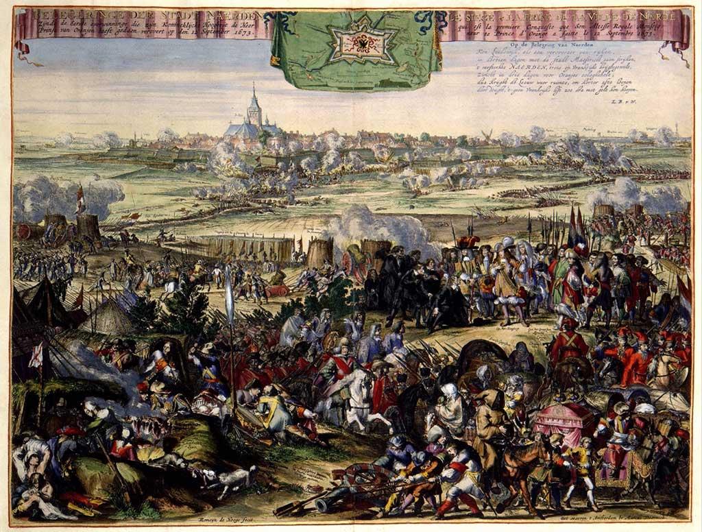 Herovering van Naarden, geleid door Willem III (6-13 november 1673)