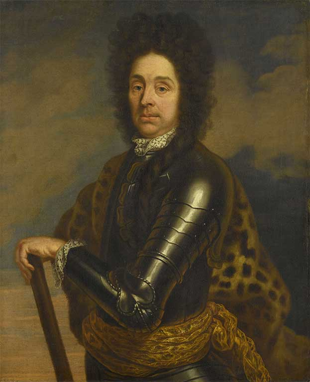 Portret van Menno van Coehoorn (1641-1704)