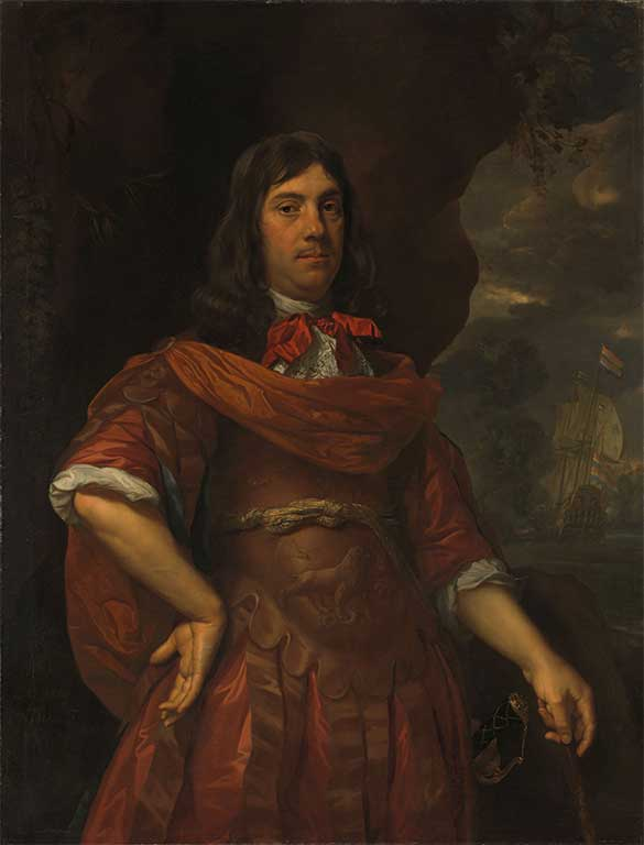 Portret van Cornelis Tromp