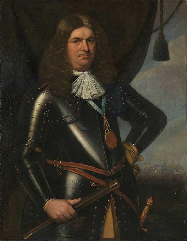 Portret van Adriaan Banckert