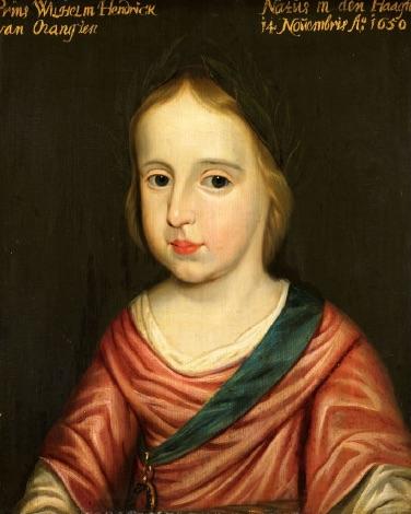 Portret van Willem III (1650-1702)