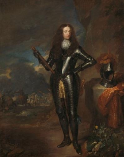 Portret van Willem III uit ca. 1680-1684.