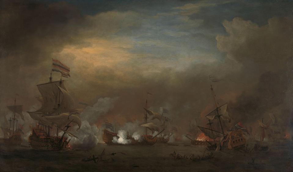 Zeeslag bij Kijkduin, 21 augustus 1673