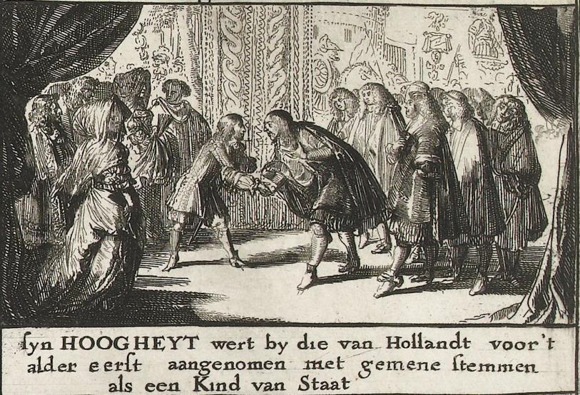 Willem III wordt 'Kind van Staat'
