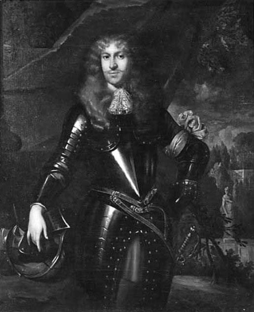 Portret van Frederik van Nassau-Zuylestein.