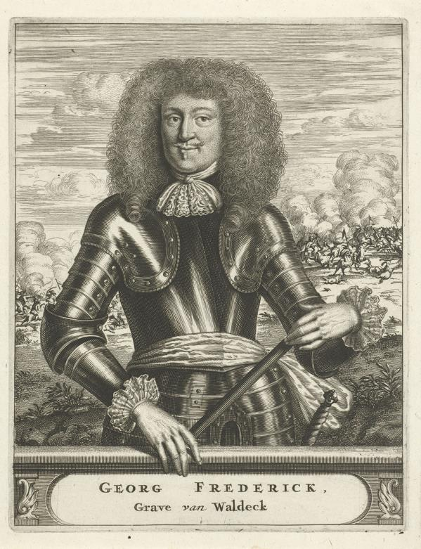Georg Friedrich, graaf van Waldeck.