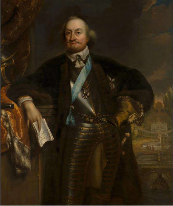 Portret van Johan Maurits van Nassau-Siegen.