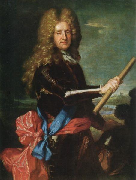 Portret van Hans Willem Bentinck.