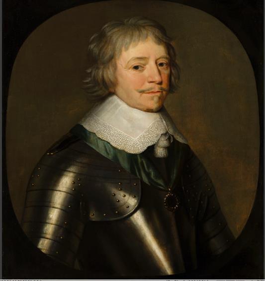 Portret van Frederik Hendrik