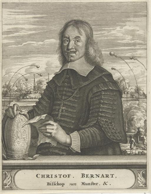 Portret van Bernhard van Galen.