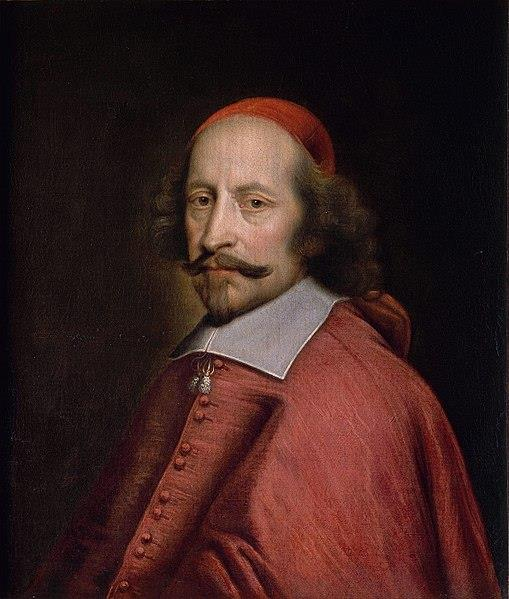 Portret van Mazarin.