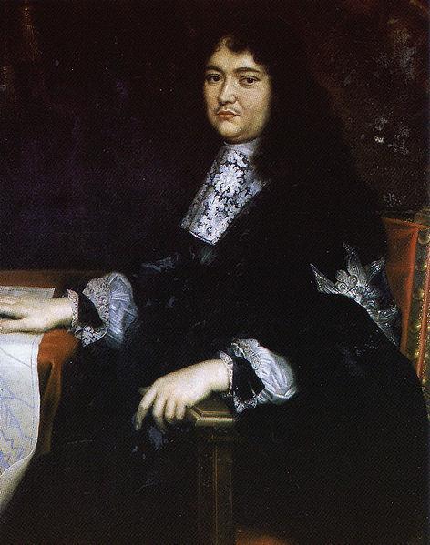 Portret van François-Michel Le Tellier (Louvois)