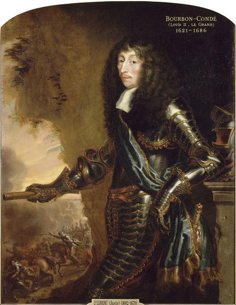 Portret van Lodewijk II van Bourbon-Condé.