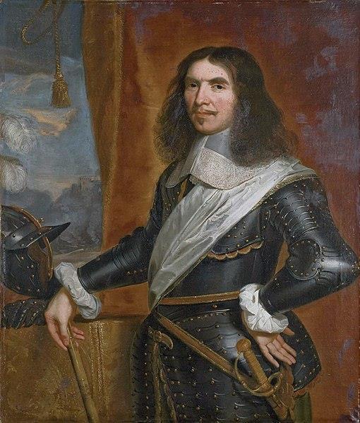Portret van Henri de la Tour d'Auvergne (Turenne).