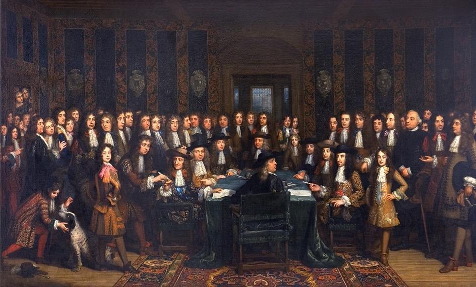 Frankrijk en Spanje tekenen de Vrede van Nijmegen (17 september 1678).